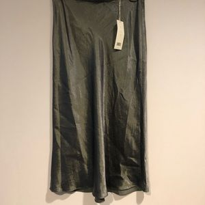 Satin Slip Skirt